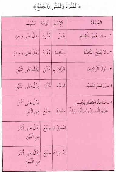 Kaidah Nahwu 007 || Mufrad, Mutsanna dan Jamak (المفرد والمؤنث والجمع)