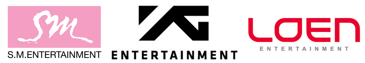 SM Entertainment YG Entertainment LOEN Entertainment CJ E&M k pop
