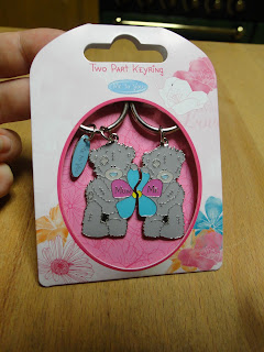 Clintons Mothers Day Me To You Keyring