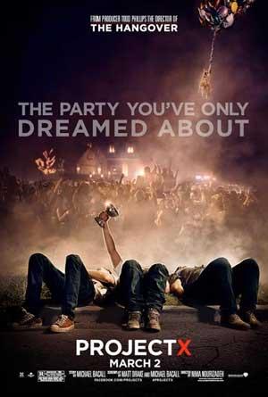 Proyecto X (2012) DVDRip Latino