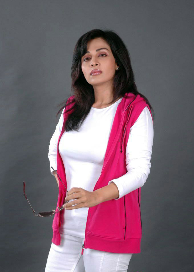 Asha Shaini  - Asha Shaini Photo Shoot Stills in White Dress, Pink Jacket