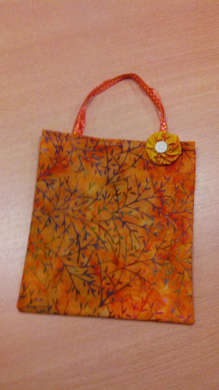 Couture tote bag personnalisé et réalisé en atelier