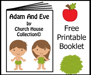 Free Adam And Eve Printable Booklet