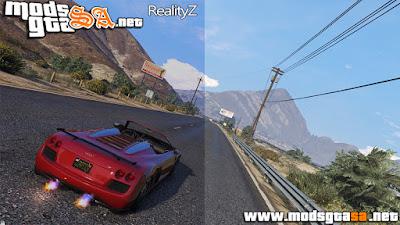 V - RealityZ Projeto para GTA V PC