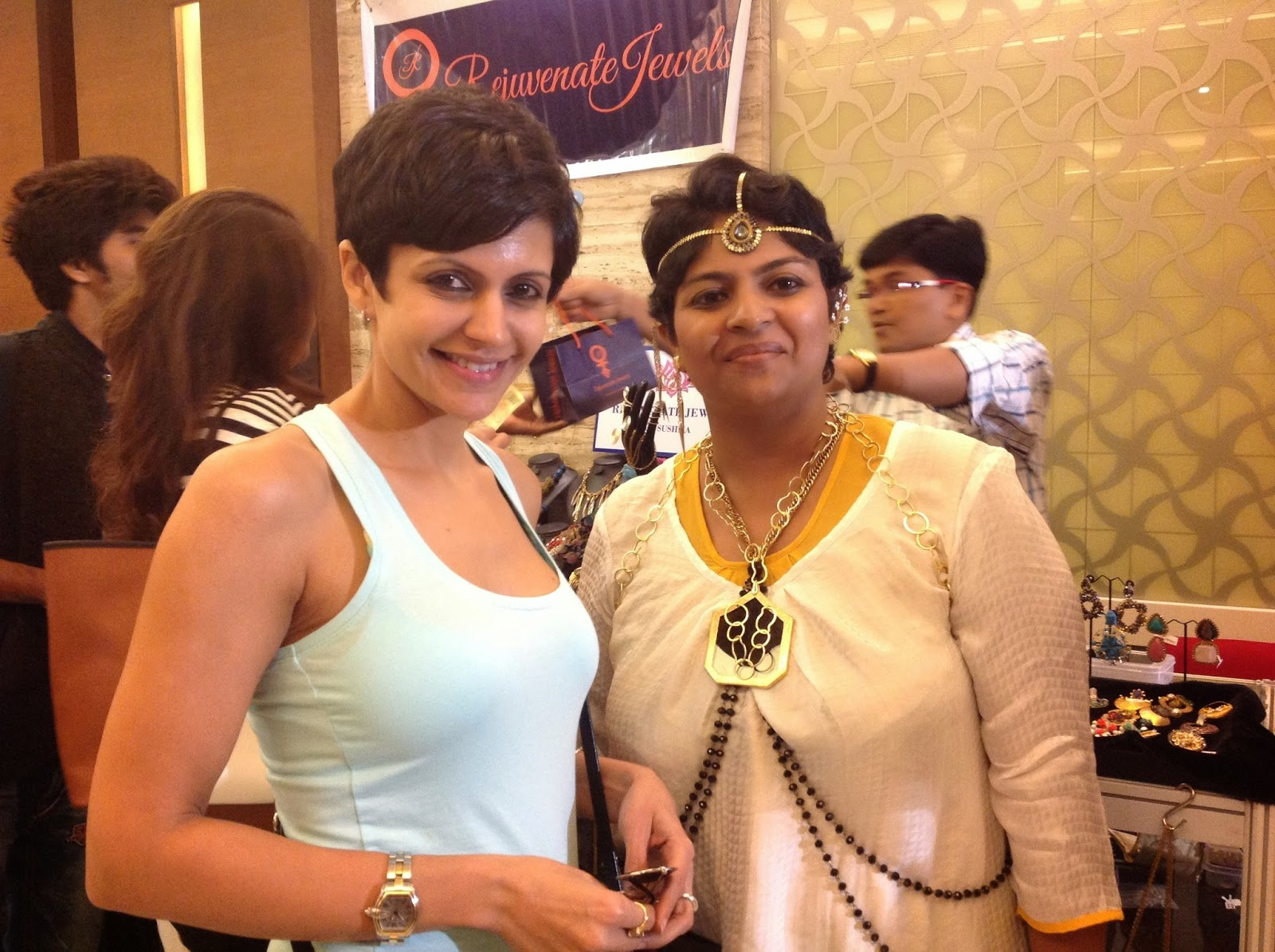 Mandira Bedi at Rejuvenate Jewels