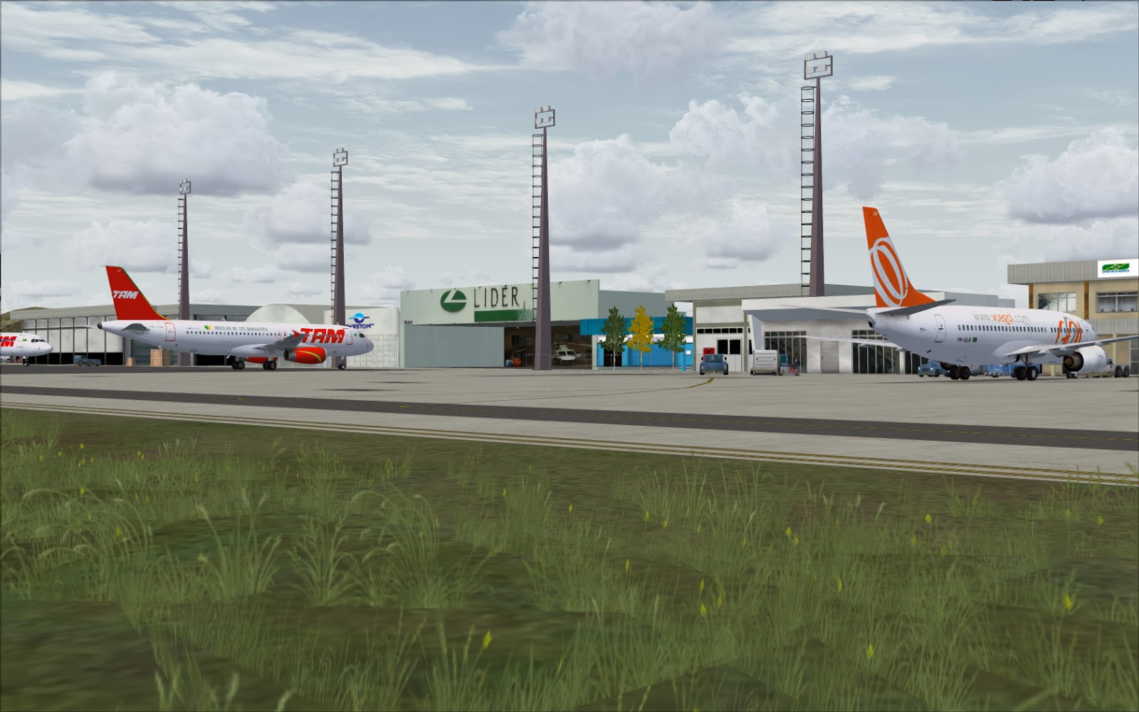Aeroporto Vix : Lançamento vix fsx prepar d experimental fscenbr
