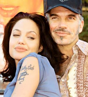 Angelina Jolie Billy Bob tattoo