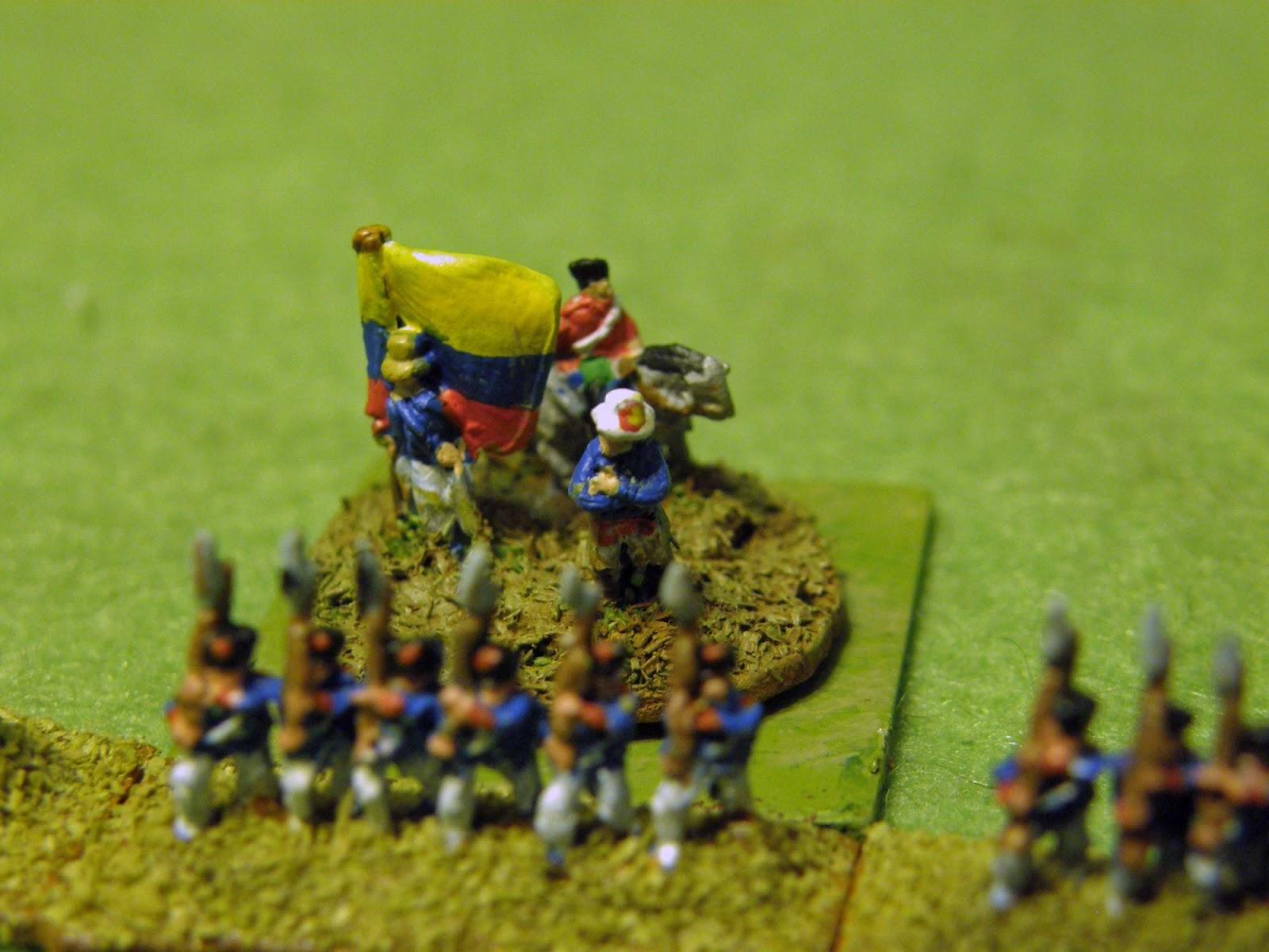 Simon Bolivar In Battle Simon bolivar surveys his