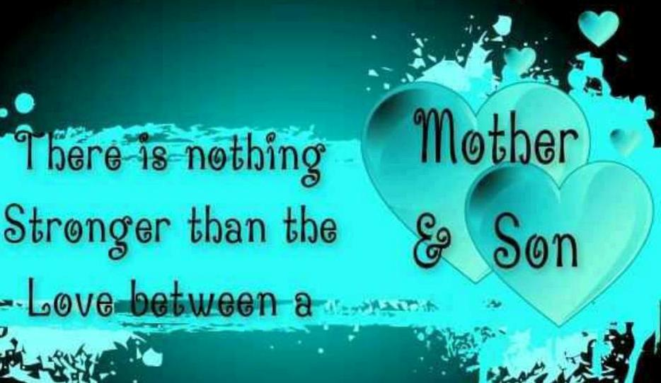 Mothers And Their Sons Quotes. QuotesGram