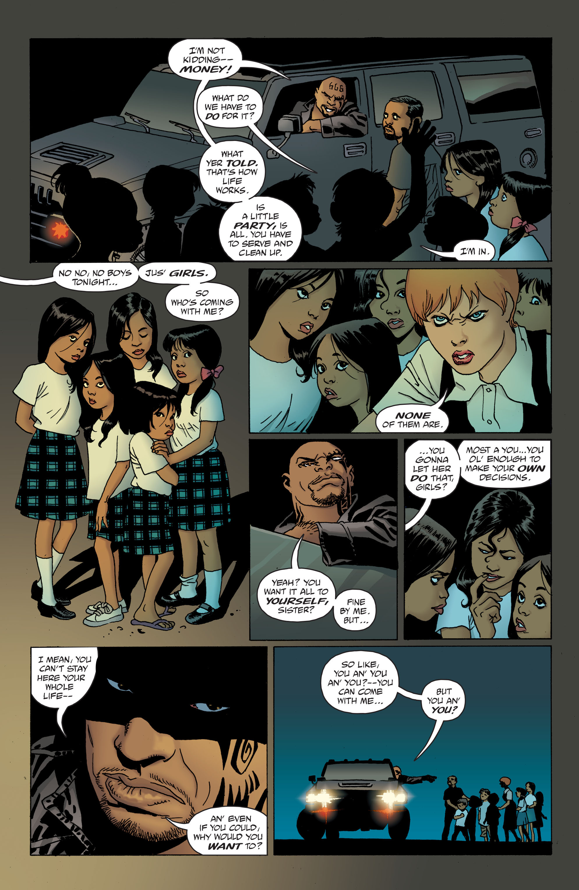100 Bullets: Brother Lono Full Page 119