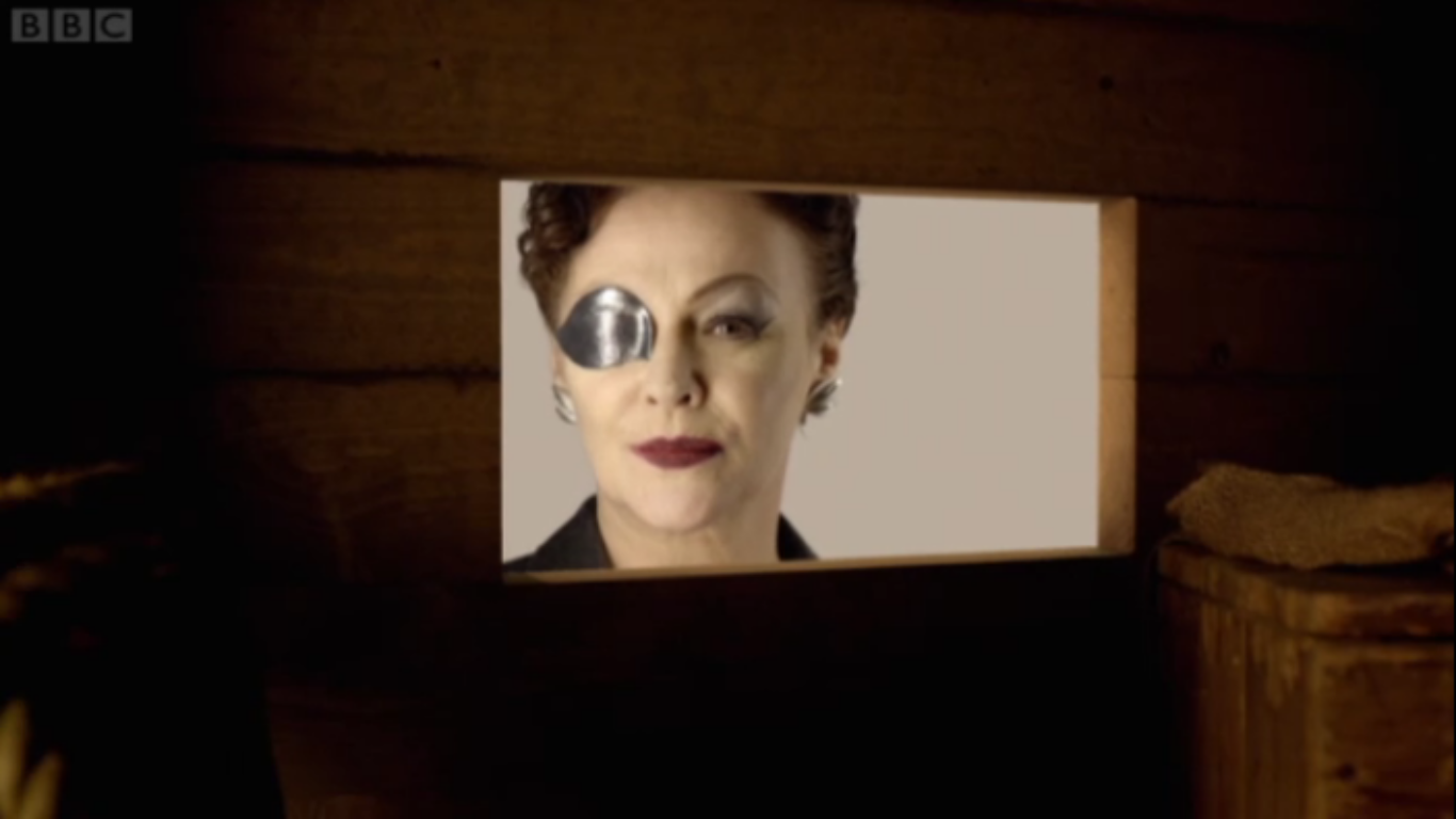 Crackpot Doctor Who Theories: Eyepatch Lady a Silent, Amy's baby a