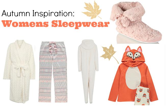 Autumn Inspiration: Womens Sleepwear - Bump to Baby & Beyond Blog ...