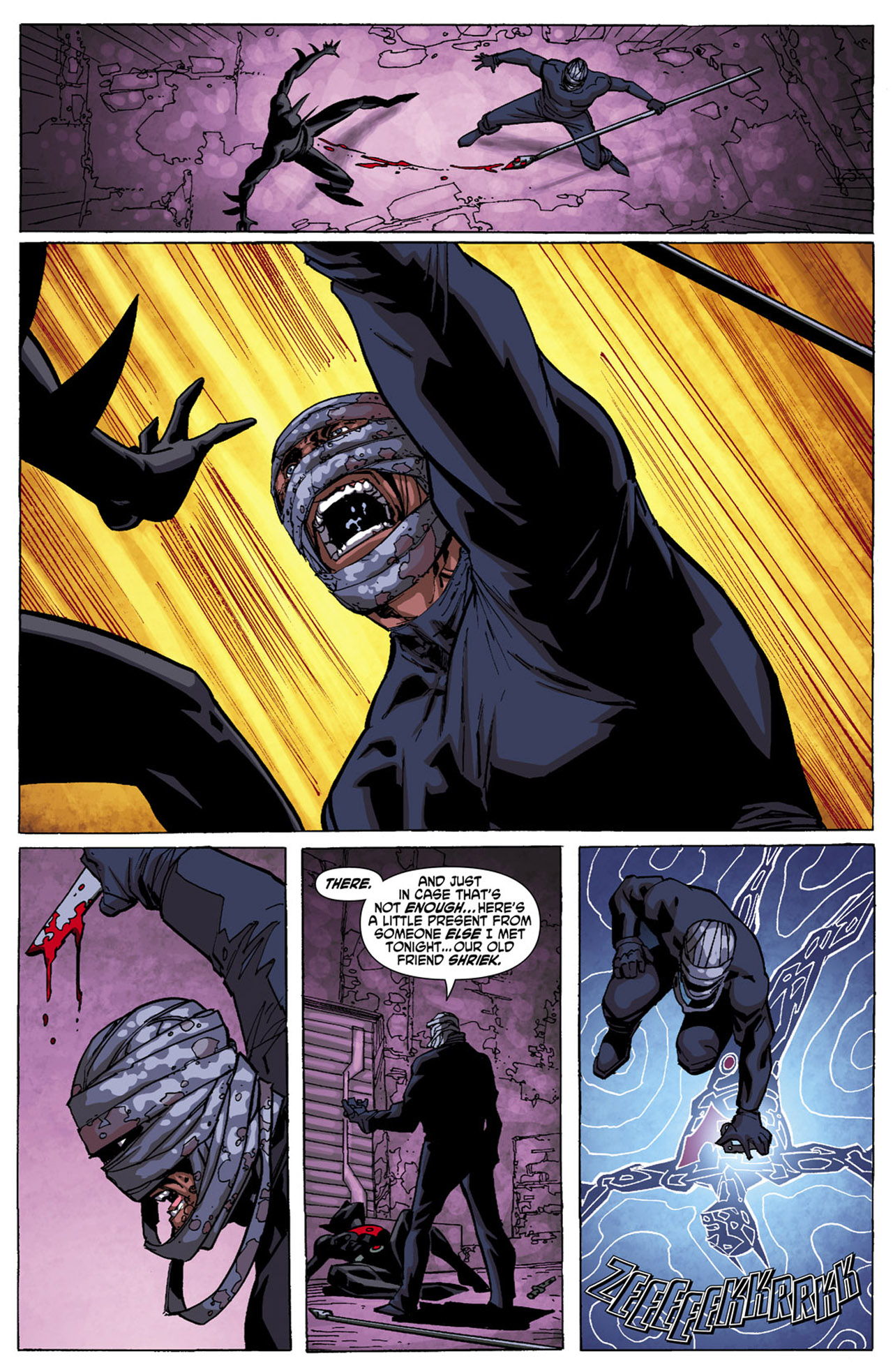 Batman Beyond (2010) Issue #4 #4 - English 21