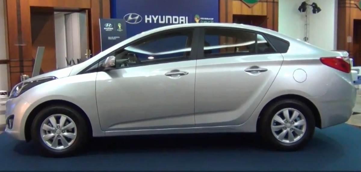 Hyundai HB20S Sedã - Lateral