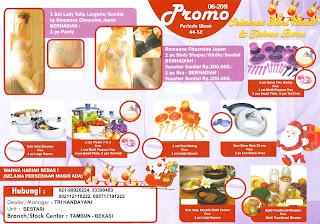 Promo Berhadiah Tulipware Bulan November - Desember 2011