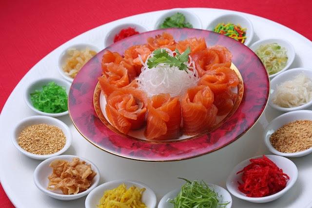 'Salmon Yee Sang