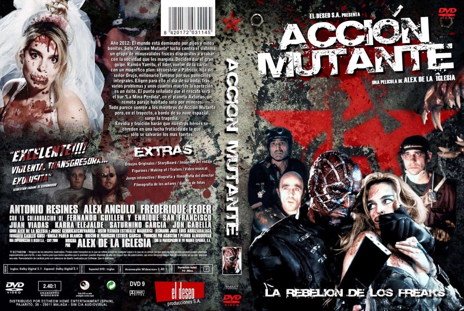Accion Mutante 1993 (dvdrip) español