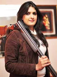 Beautiful Shooter Shagun Chowdhary