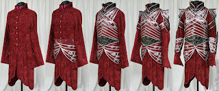 Lord Elrond armor costume panel handmade by Ruby Bayan.
