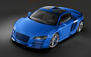 Blue Audi HD Wallpaper