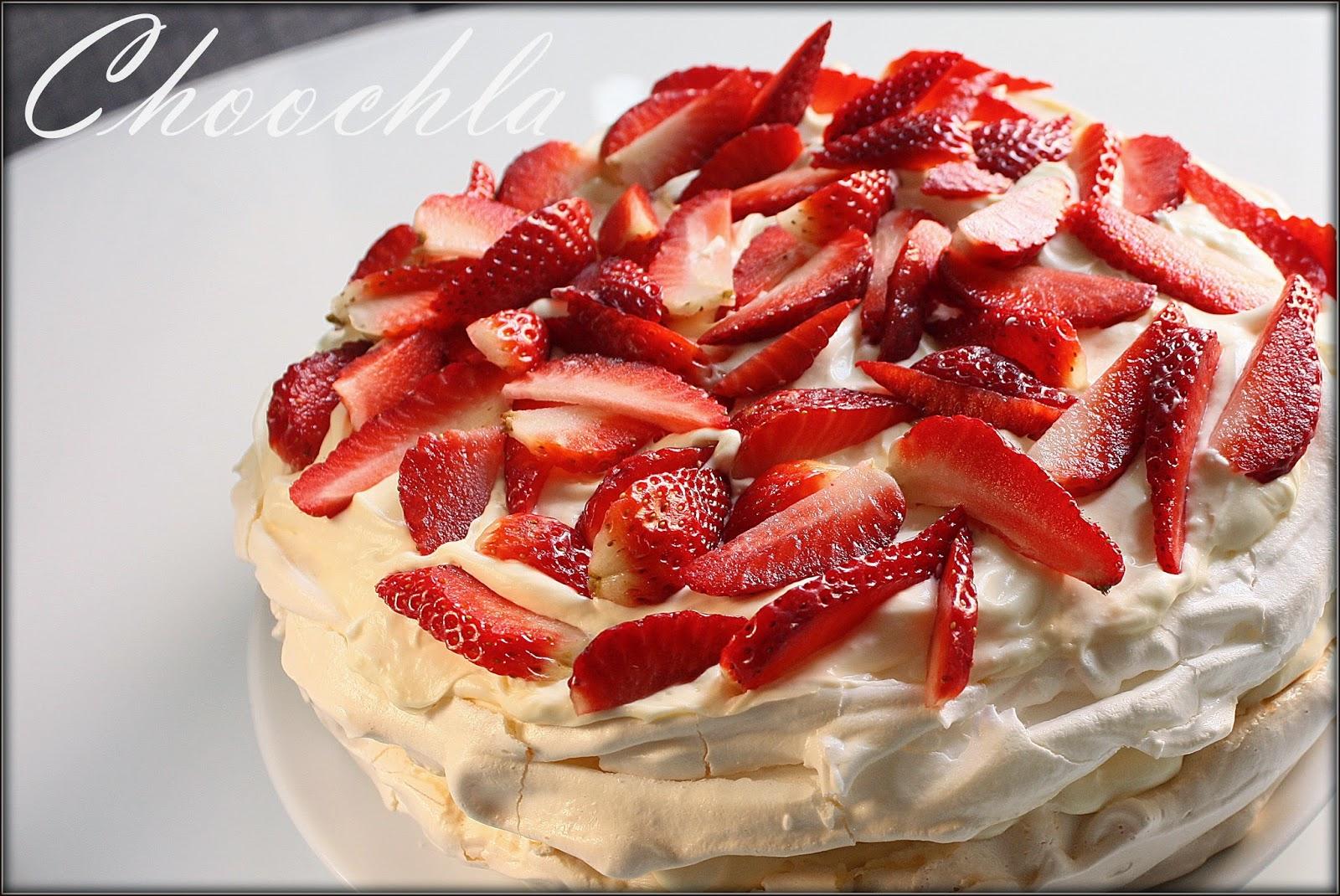 Choochla tort bezowy z kremem waniliowo jajecznym z for What to do with mascarpone