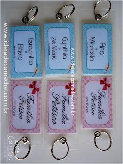 tags personalizados para mala