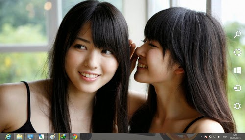 Cute Asian Girls Theme For Windows 7 And 8 8.1