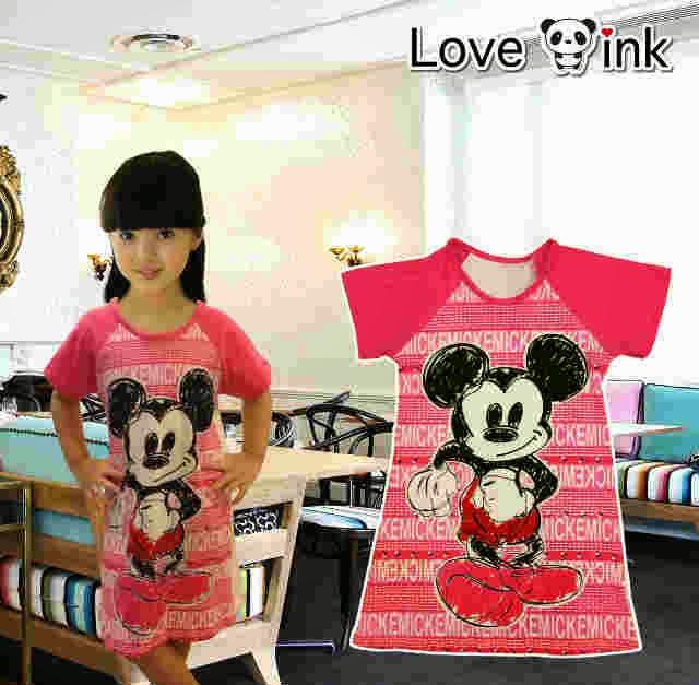 Dress Kids Mickey.Love Ink.