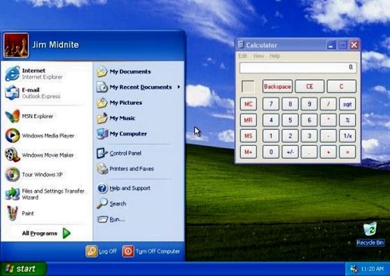 Windows XP: aquele que eu amei!