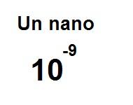 Equivalencia de un nano