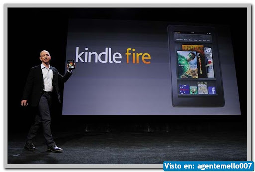 Amazon Presenta su Kindle Fire