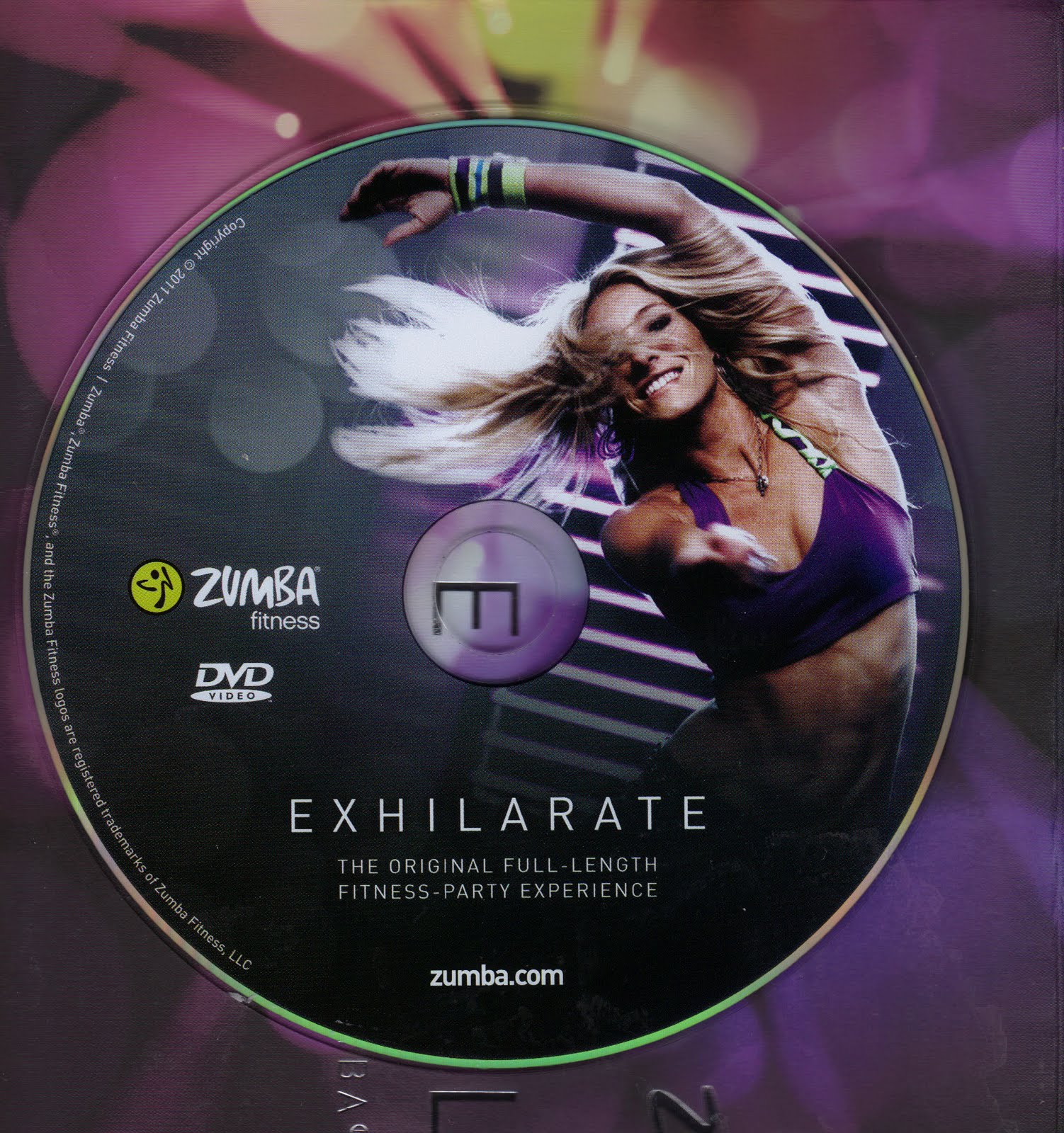 SaundraZumba Fitness Exhilarate Dvd