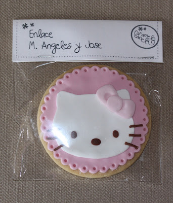 Galletas decoradas, galleta hello kitty, hello kitty, cumpleaños infantil, detalle boda