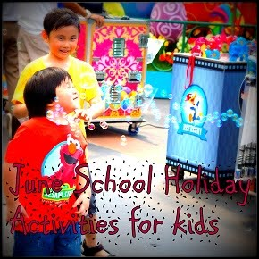 June School Holiday Activities for kids