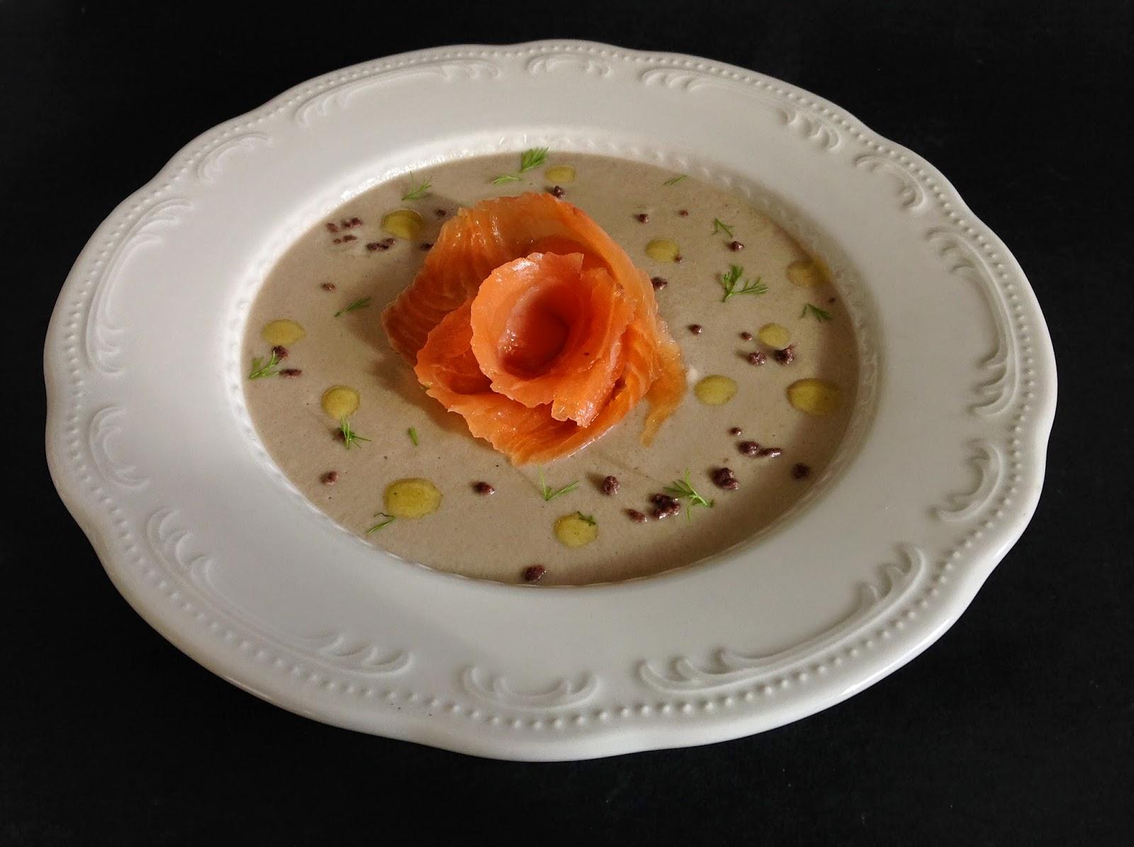 Shamira gatta velluata di shitake al salmone scozzese - Cucinare olive appena raccolte ...