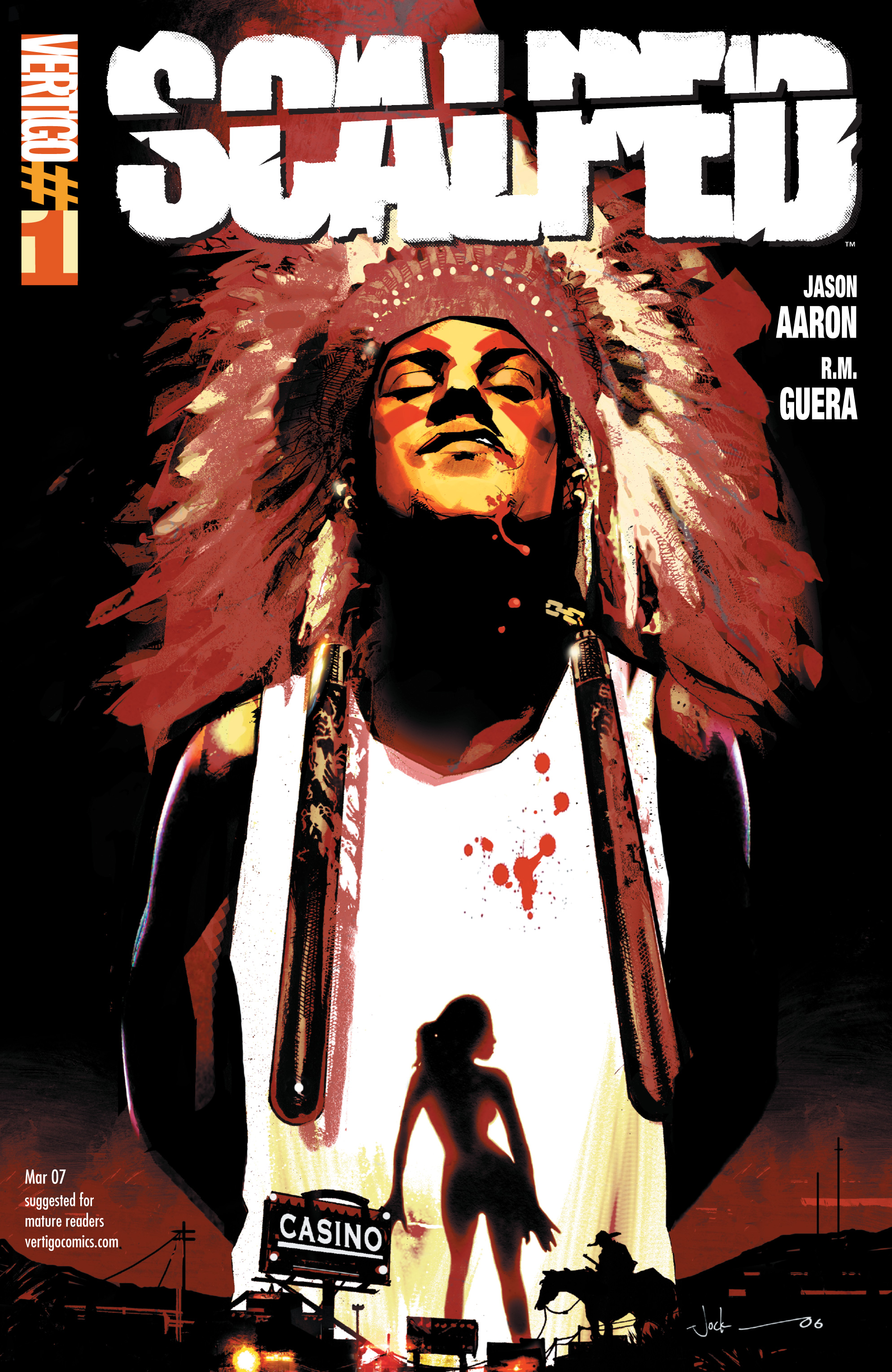 Scalped issue 1 - Page 1