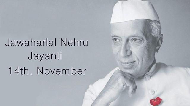 Happy Javaharalal Nehru Jayanti