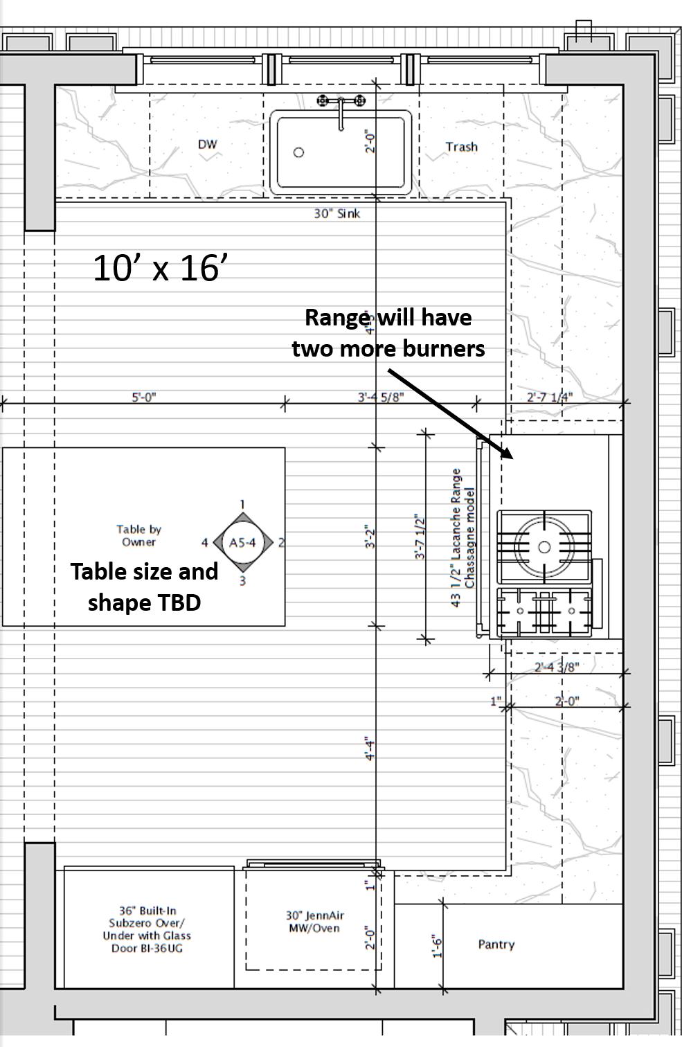 Kitchen Square Footage kitchen square footage - home design