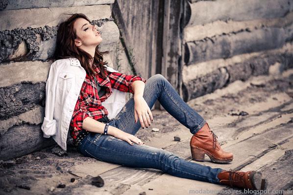 Scombro Jeans Moda invierno 2013