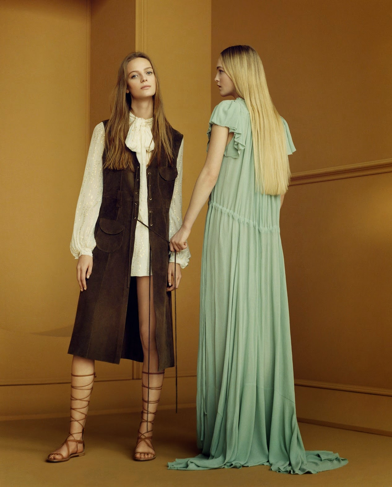Zara Woman Fashion Campaign Sprin Summer 2015