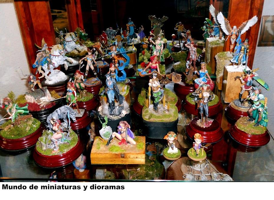 Mundo de miniaturas y dioramas