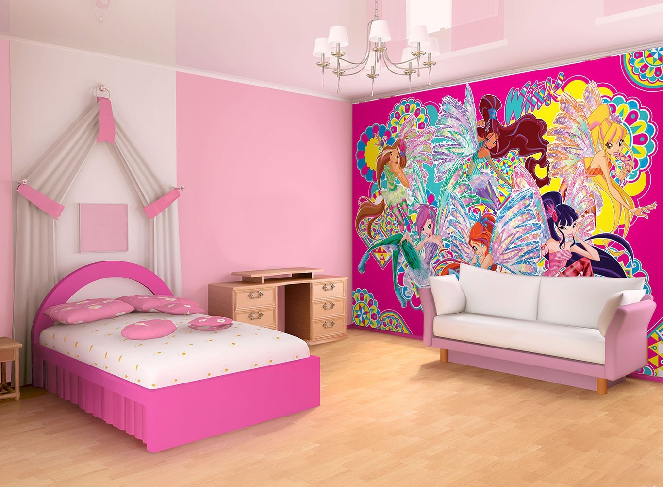 P sters de pared winx club sirenix winx club all - Poster para pared ...