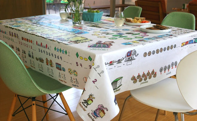 educational tablecloth