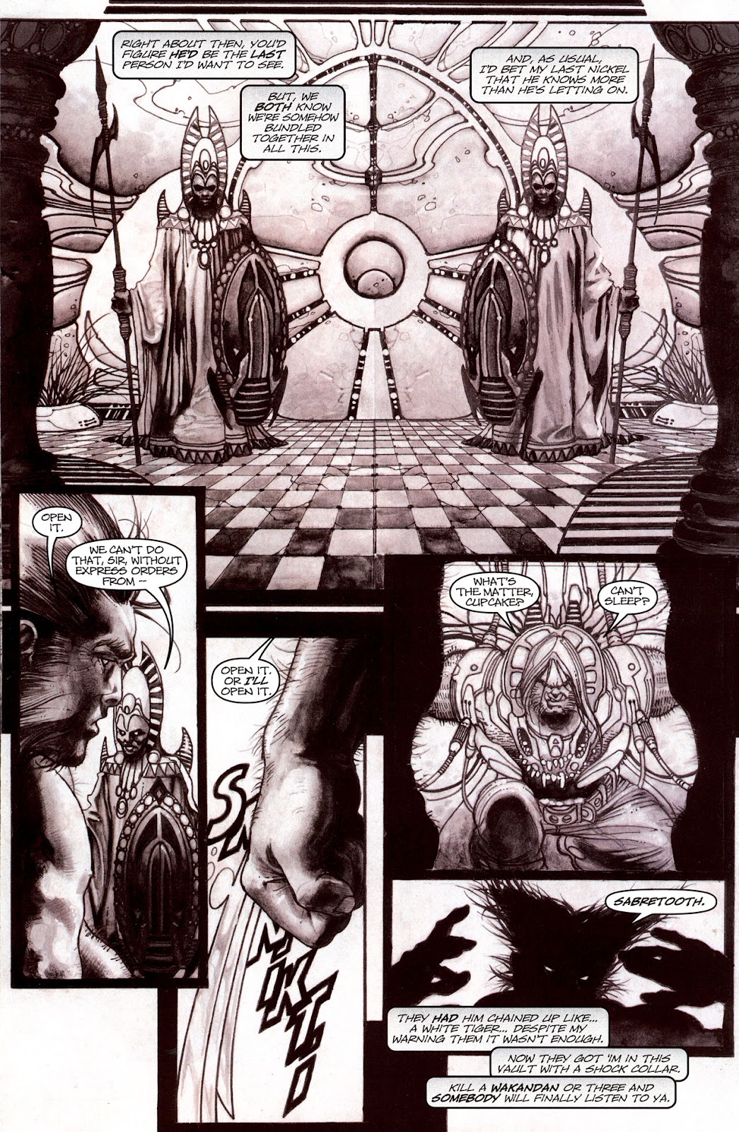 Read online Wolverine (2003) comic -  Issue #53 - 9