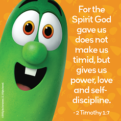 2 timothy 1:7 VT quote