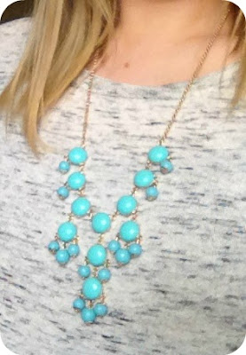 Turquoise Bauble Necklace