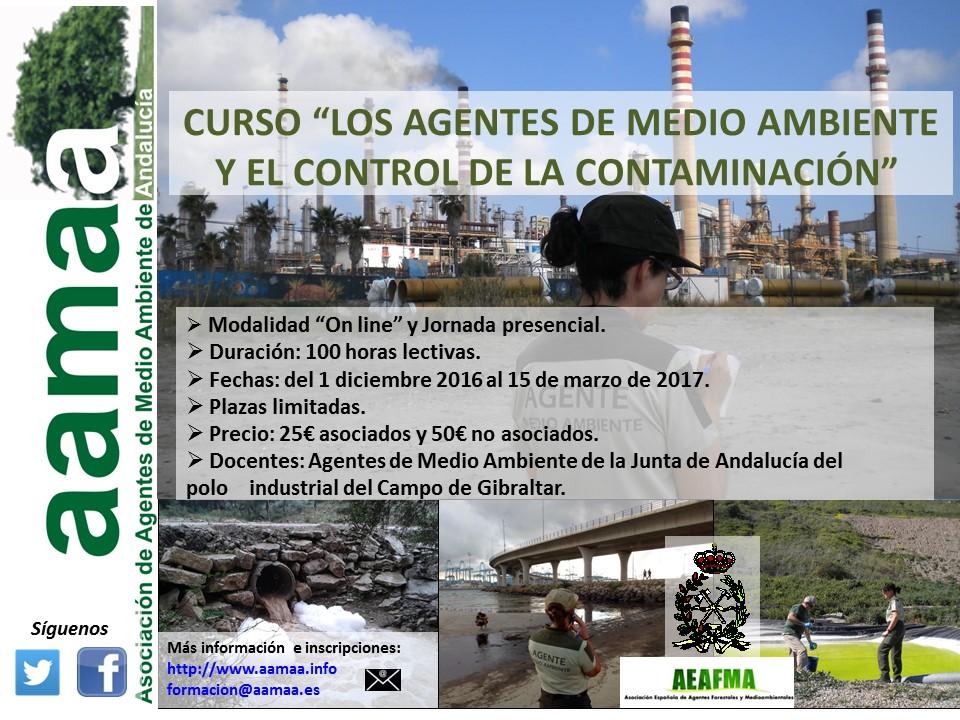 """Curso """"Los AAMM y el control de la contaminación"""""""