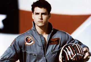 Tom Cruise in Tony Scott's Top Gun