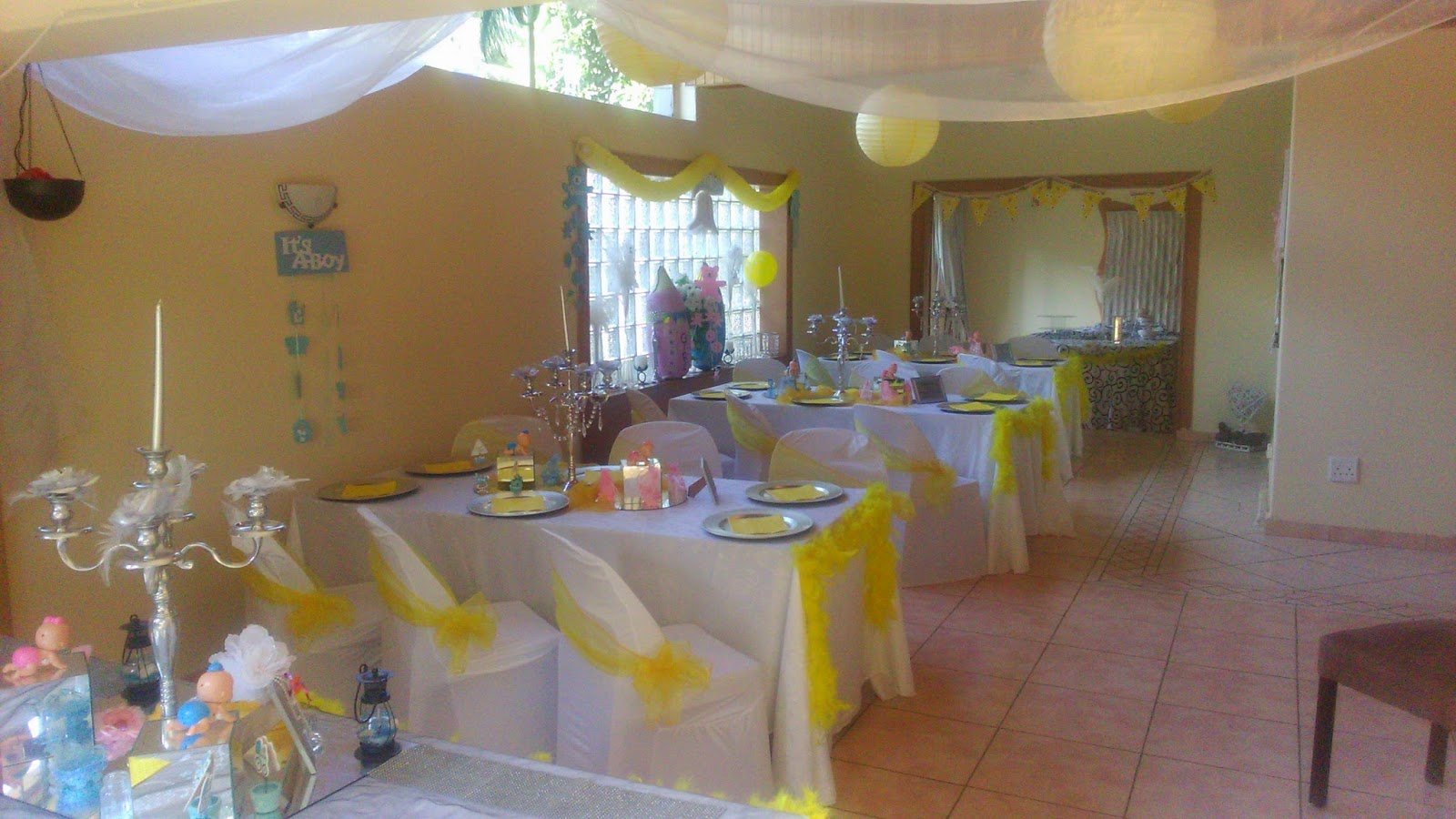 Boutique Venue With Full Setups And Halaal Catering Baby Shower