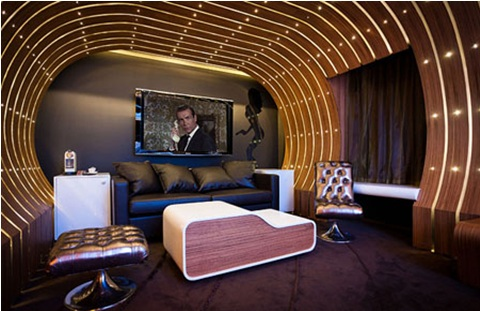 James Bond 007 Bedroom Decoration, Original and Elegant Design